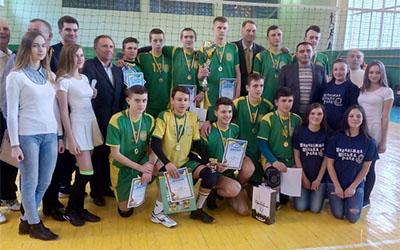 Теребовлянські волейболісти – найсильніші в Україні