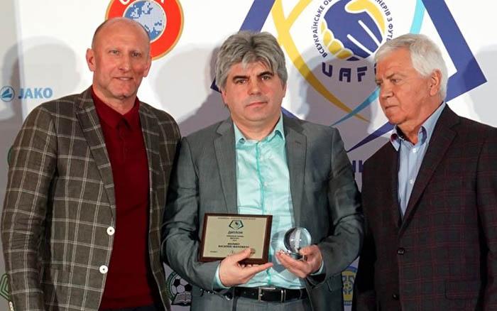 Василь Малик отримав нагороду найкращого тренера Другої ліги 2019-го року
