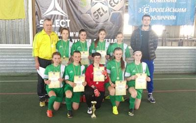 Чемпіонками області з футзалу стали дівчата з Бережан