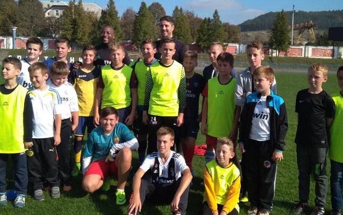 """Гравці мадридського """"Реалу"""" провели у Бережанах відкрите тренування у футбольної школи """"Леви"""""""