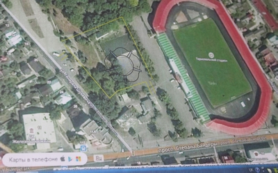 У Тернополі запланували грандіозне будівництво спортивного комплексу