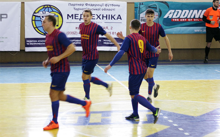 Результати фінальної частини Вищої футзальної ліги Тернопільщини