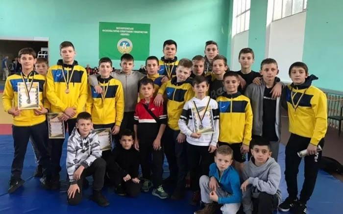 Борці греко-римського стилю здобули шість медалей Міжнародних змагань
