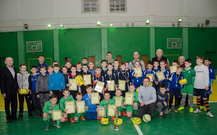 У п'ятикласників Тернопільщини визначився чемпіон із футзалу