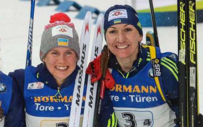 Підгрушна та Меркушина візьмуть участь в спринті на другому етапі Кубка світу з біатлону
