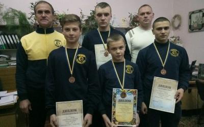 Успіхи збаразьких гирьовиків на чемпіонаті України
