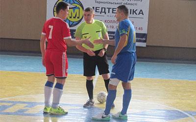 Тернопільська друга футзальна ліга. 1 тур