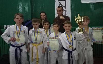 Тернополяни здобули вісім нагород у Кубку Київської області з таеквондо І.Т.Ф.