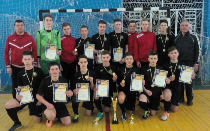 Юні тернополяни стали чемпіонами футзальної ліги
