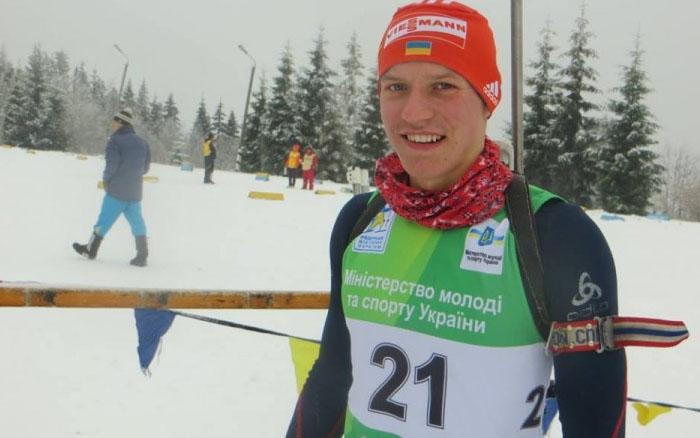 Руслан Бригадир провів гонку переслідування на юніорському Чемпіонаті світ