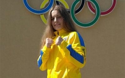 Боксерка Олеся Крисюк змагається на чемпіонаті Європи