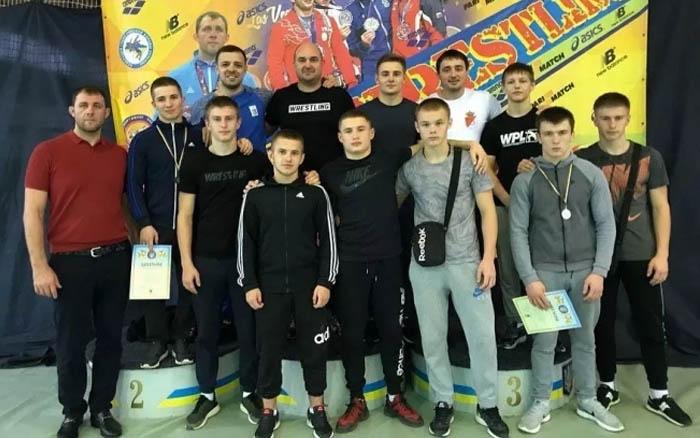 Тернопільські борці стали призерами Кубка України