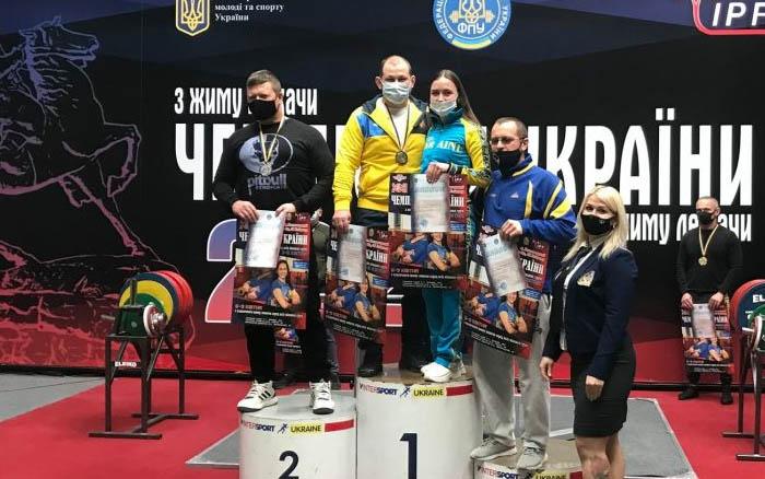 Викладач з Тернопільщини – один з найкращих на чемпіонаті України з класичного жиму
