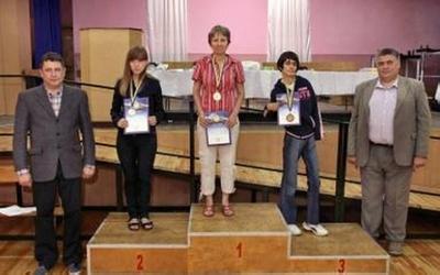 Спортсменка з Бережан стала призеркою чемпіонату України з шашок-64