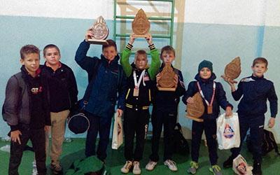Тернопільські борці здобули п'ять нагород у Костополі