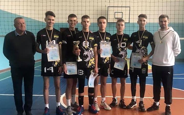 КДЮСШ №1 – чемпіон Тернопільської області з волейболу серед юнаків 2006 р.н.