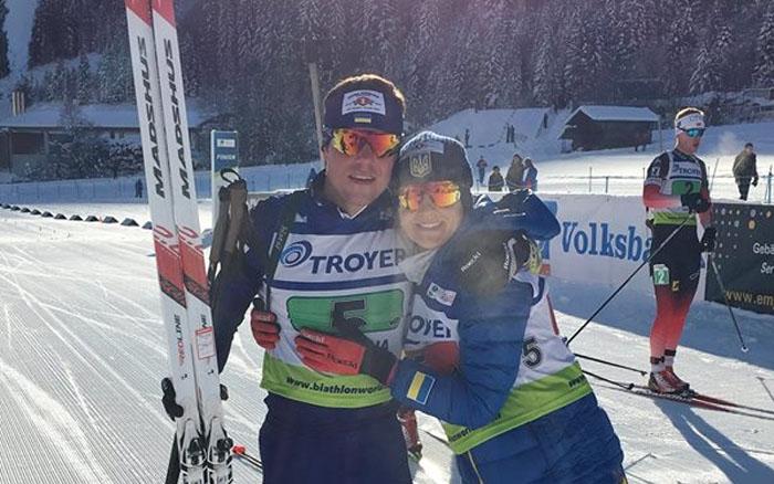 Віталій Труш – бронзовий призер одиночної змішаної естафети на Кубку IBU