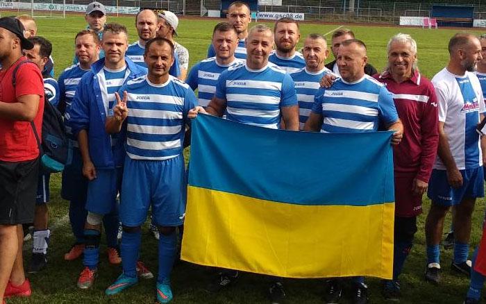 Тернопільські ветерани перемогли на турнірні в Німеччині!