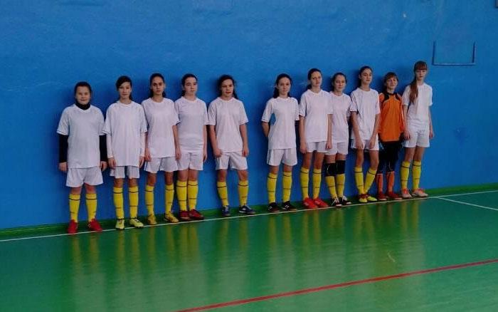 Тернопільські дівчата посіли третє місце в Хмельницькому