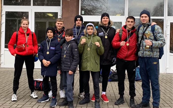 Восьмеро спортсменів з Тернополя отримали призові місця на турнірі з боксу
