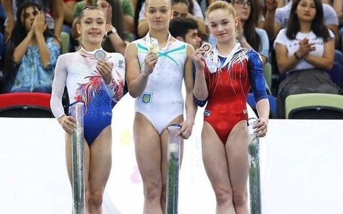 Тернопільська гімнастка виборола путівку на юнацьку Олімпіаду, що відбудеться у Аргентині