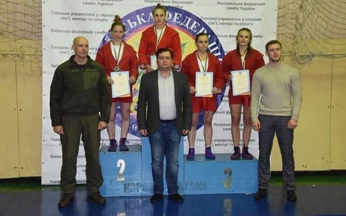 Студенти ТНЕУ – переможці чемпіонату України зі спортивного самбо