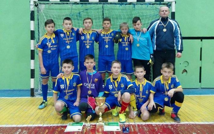 Юні козівські футболісти перемогли на турнірі в Івано-Франківську