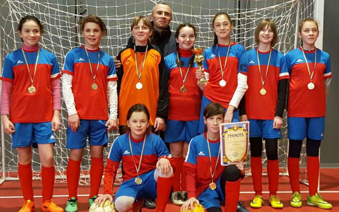 Юні тернополянки – чемпіонки області з футзалу