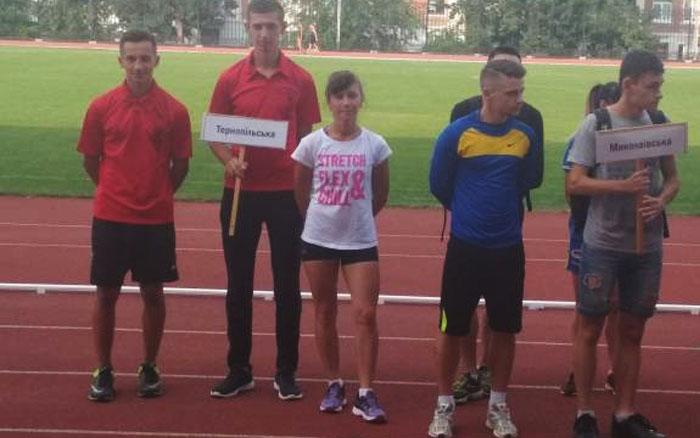 Тернополяни стали призерами Кубка України з легкої атлетики