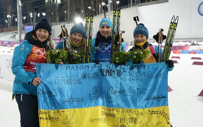 Жіноча збірна України 4-а в естафеті на Кубку світу з біатлону в австрійському Хохфільцені