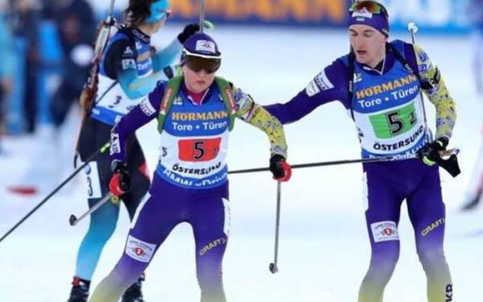 Підручний та Меркушина фінішували у ТОП-5 в одиночній змішаній естафеті на Кубку світу
