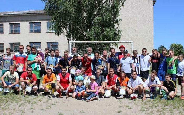 Відбулись змагання з міні-футболу в рамках поведення спортивних ігор Кременеччини