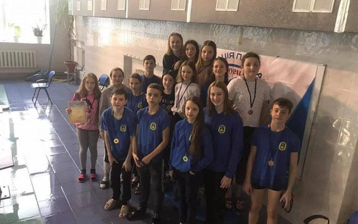 На Тернопільщині завершився чемпіонат області з плавання