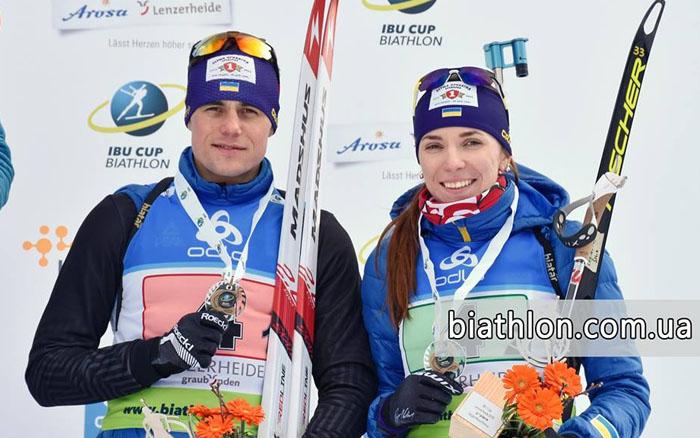 Труш і Кручова – бронзові призери Кубка IBU