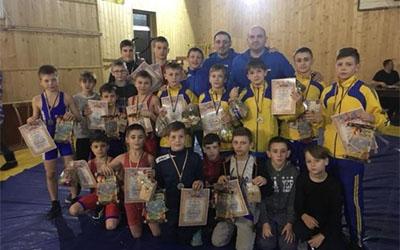 Тернопільські борці стали кращими на Різдвяному турнірі