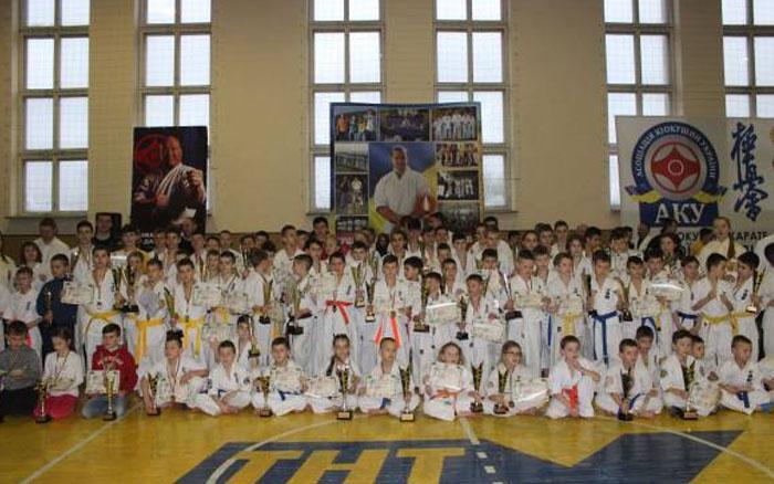 У Тернополі відбувся Всеукраїнський турнір з Кіокушинкай карате