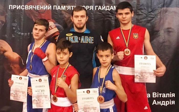 """Тернополяни стали призерами турніру """"Ivano-Frankivsk BOXING CUP"""""""