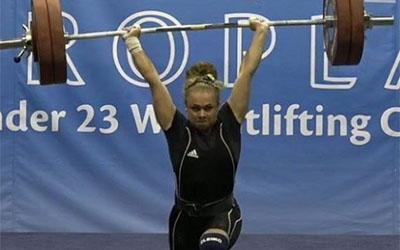 Марія Хлян не зможе брати участь у змаганнях з важкої атлетики впродовж року