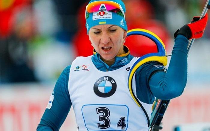 Олена Підгрушна провела невдалу індивідуальну гонку на Чемпіонаті світу