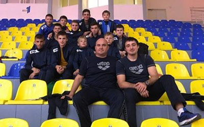 Тернопільські борці на чемпіонаті України стартували з перемоги