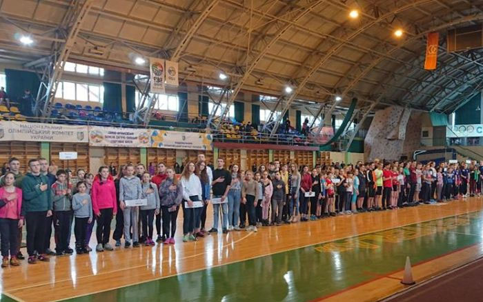 Спортсмени Тернопілля показали блискучий результат серед легкоатлетів Прикарпаття