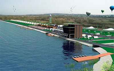 На базі веслувального каналу хочуть збудувати