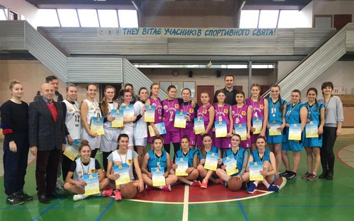 Баскетболістки ТНЕУ виграли Відкриту Універсіаду Тернополя