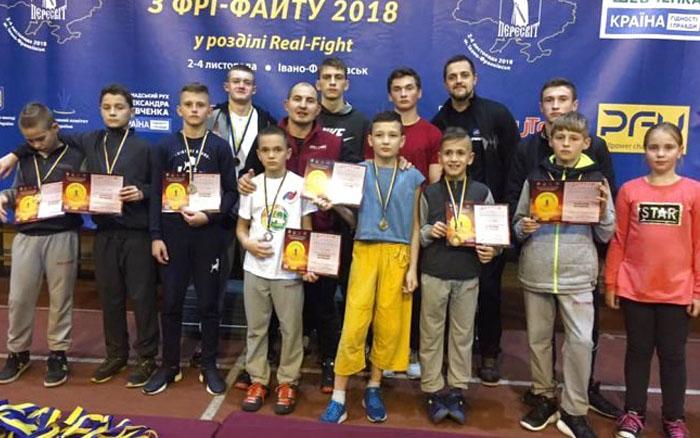Тернопільські фрі-файтери здобули медалі на двох турнірах