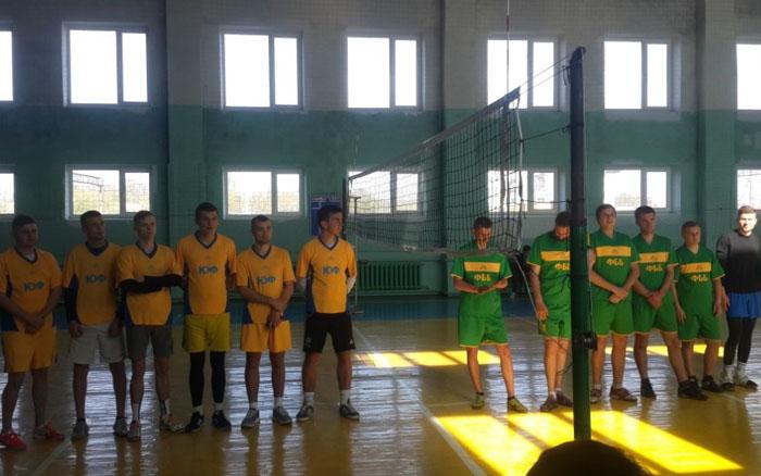 Відбулася Спартакіада ТНЕУ серед чоловічих команд з волейболу