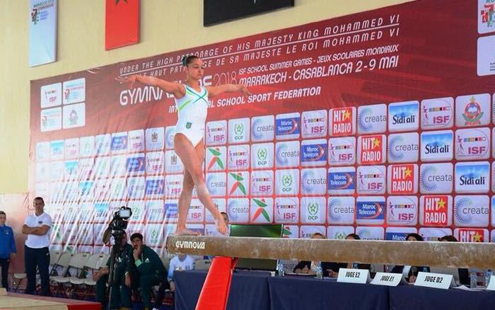 Золотий тріумф Анастасії Бачинської на Всесвітній Гімназіаді!