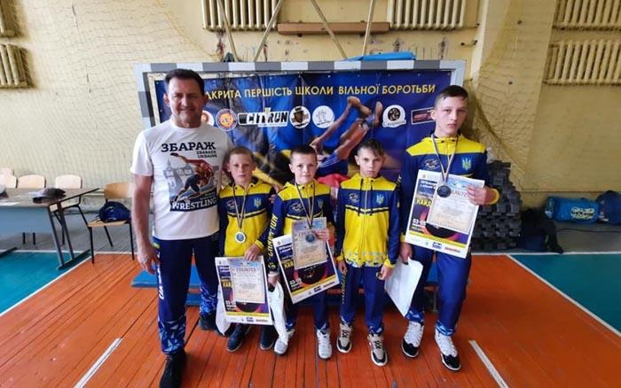 Три призових місця отримали спортсмени з Тернопільщини на Всеукраїнському турнірі з вільної боротьби
