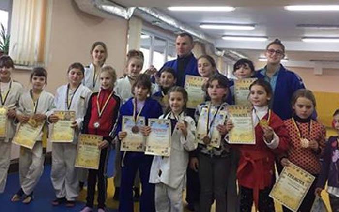 В Тернополі вперше проведено першість з дзюдо серед дівчат
