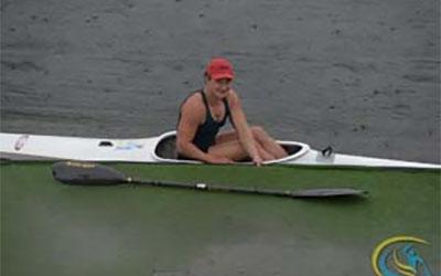 Тетяна Єднак – срібна та двічі бронзова призерка особистого чемпіонату України з веслування на байдарках і каное