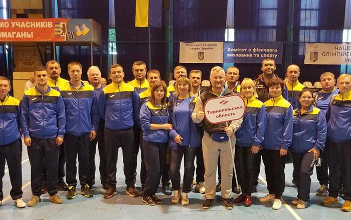 Команда держслужбовців Тернопільщини посіла друге місце у футзалі